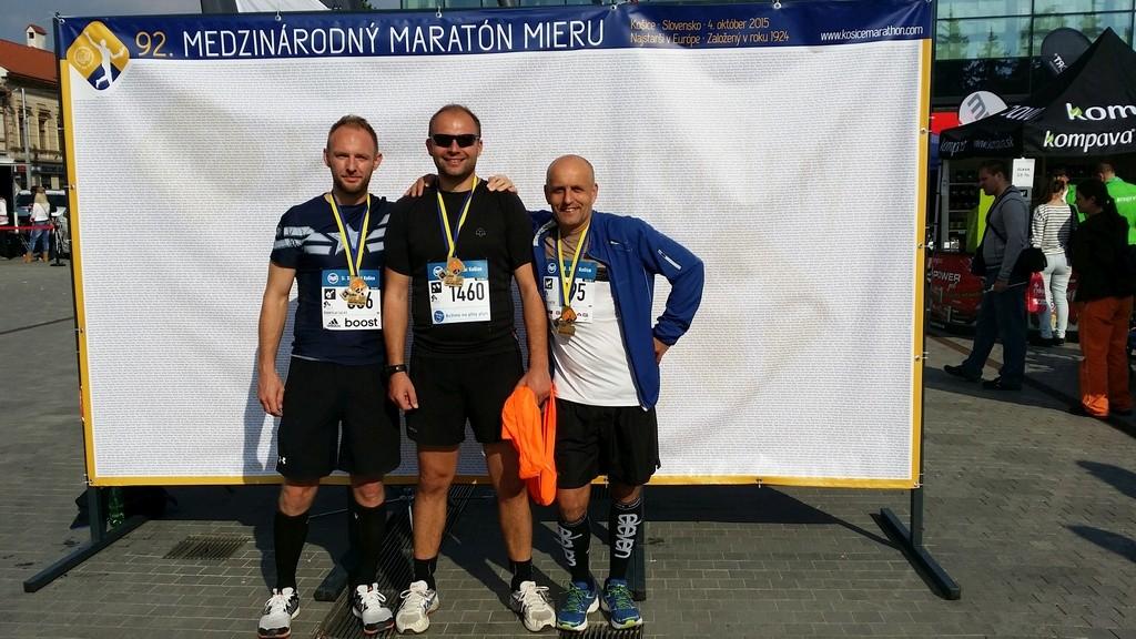 Spokojnosť a eufória po dobehnutí maratónu
