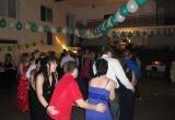 Typický vláčik nemohol chýbať ani na plese