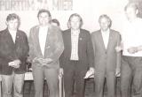 Bývalí funkcionári TJ Tatran Bobot odmenení čestným odznakom
