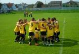Radosť najmladšieho tímu Tatranu Bobot po zápase