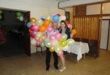 Veselý odchod z plesu