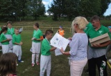 Najmenší futbalisti dostali aj menšie darčeky